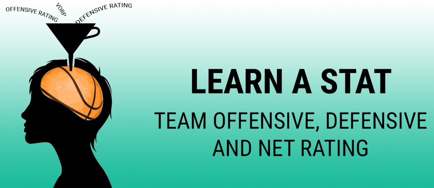 Learn a Stat: Team Offensive, Defensive, and Net Rating
