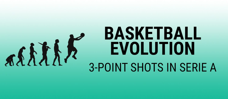 Basketball Evolution: 3-point shot evolution in Serie A