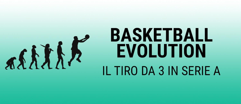 Basket Evolution: il tiro da 3 punti in Serie A