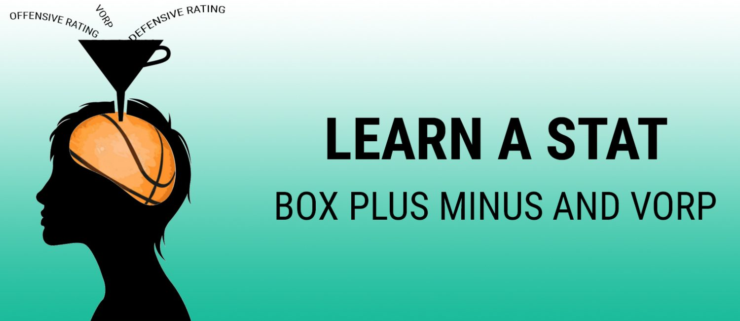 Learn a Stat: Box Plus Minus and VORP