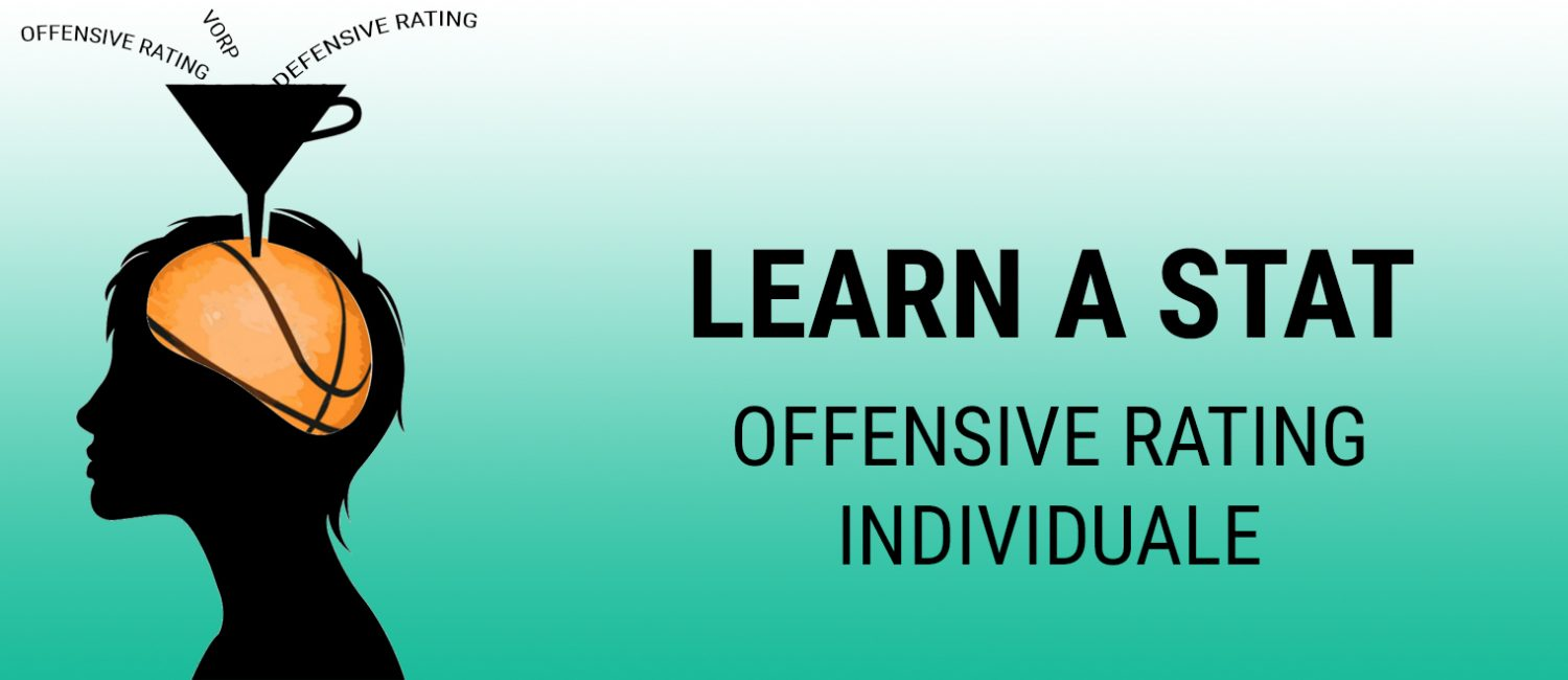 Learn a Stat: Offensive Rating individuale