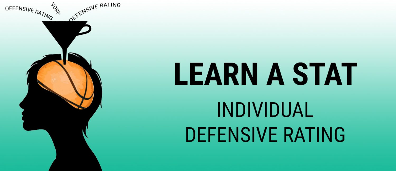 Learn a Stat: individual Defensive Rating
