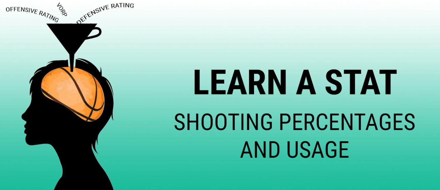 Learn a Stat: shooting percentages and usage
