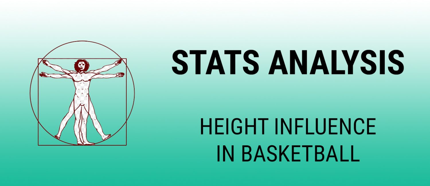 Height influence in basketball