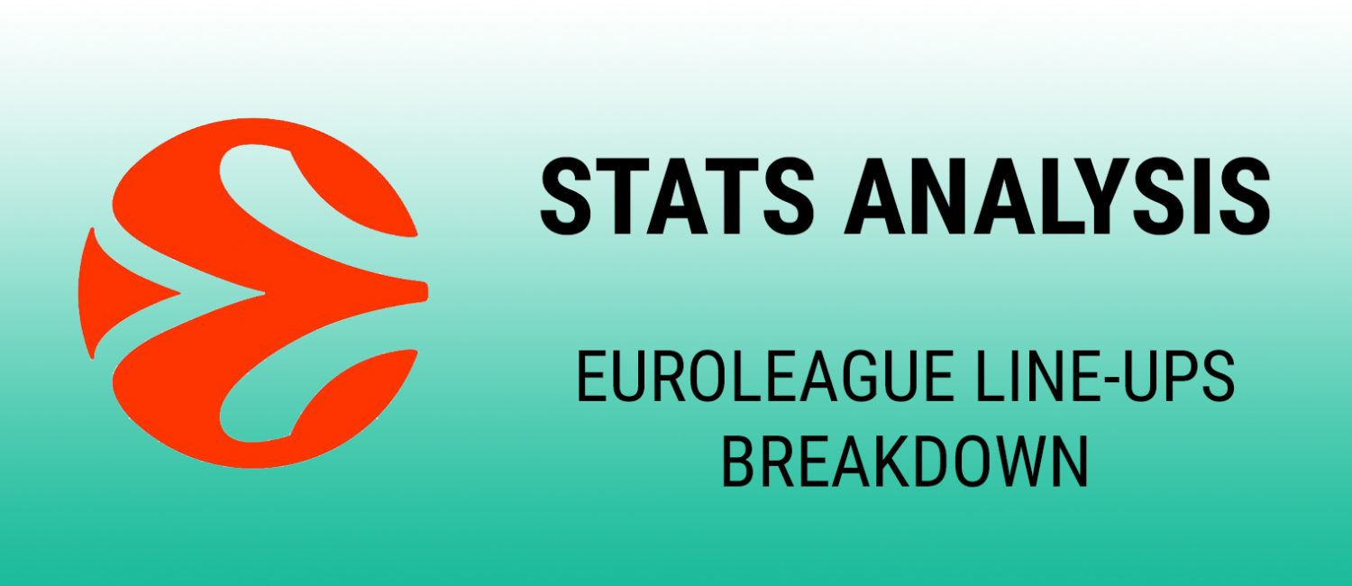 Euroleague line-ups breakdown